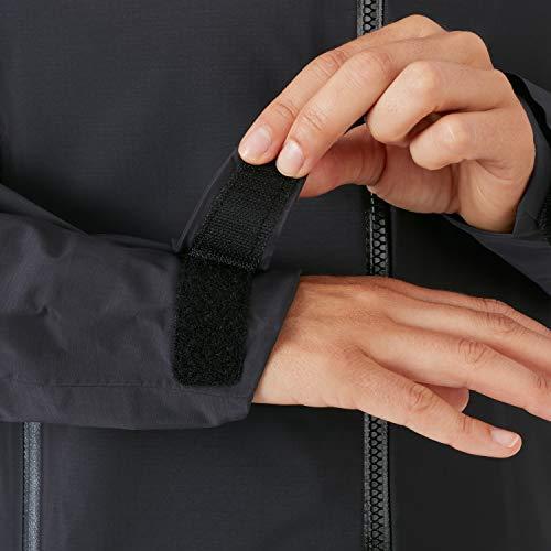 Mammut Damen Kento Hooded Hardshell-Jacke mit Kapuze, Black, S