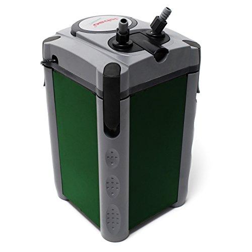 Jebao 304 Außenfilter 1200 L/h 4-Stufen Kammerfilter mit Filtermaterial
