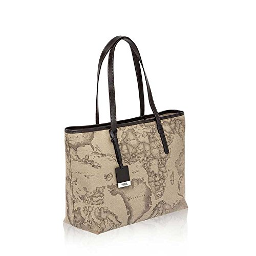 Shopping Bag Big Alviero Martini 1 ^ Classe | Geo Tortora | Nouvelle base | CD00761300590