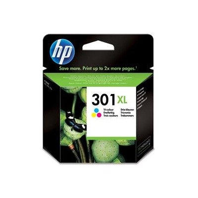 1x Original XL cabezal de impresión de tinta para HP CH564EE Officejet 4630, HP 301X L–Color