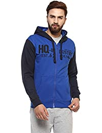 Griffel Latest New Designer Stylish Cotton Fleece Printed Zipper Sweatshirt/Pullover Full Sleeve With Hoody For Men/Boys