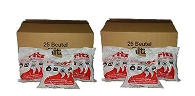 Anzünder Ritz Bio Anzünder für Grill,Kamin,Ofen 650 Stück natürlicher Ofenanzünder aus Holzwolle Grillanzünder Kaminanzünder Feueranzünder Anzündhilfe Holzanzünder