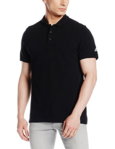 adidas Herren Essentials Base Poloshirt, Black, XL (Base Polo)
