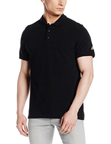 adidas Herren Essentials Basic Poloshirt Black, M