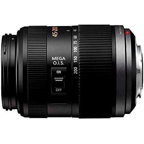 Panasonic 45-200mm f/4.0-5.6 G Vario - Objetivo para micro cuatro tercios (distancia focal 45-200mm, apertura f/4-22, zoom óptico 4x,estabilizador, diámetro: 52mm)