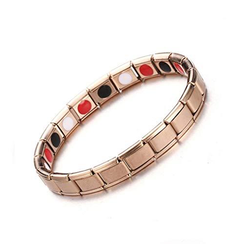 DJOLG Magnetarmband für Herren, kann verwendet Werden, um Arthritis, Gelenkschmerzen etc. zu lindern, Armband für Männer, a
