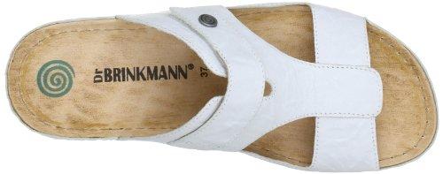 Dr. Brinkmann 700670, Mules femme Blanc (Weiß 3)