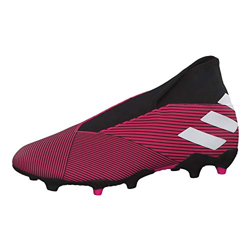 adidas Performance Predator 19.1 FG Fußballschuh Herren Silber/schwarz, 6 UK - 39 1/3 EU - 6.5 US