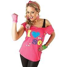 Rubies Official - Disfraz para adulto, camiseta con texto en inglés