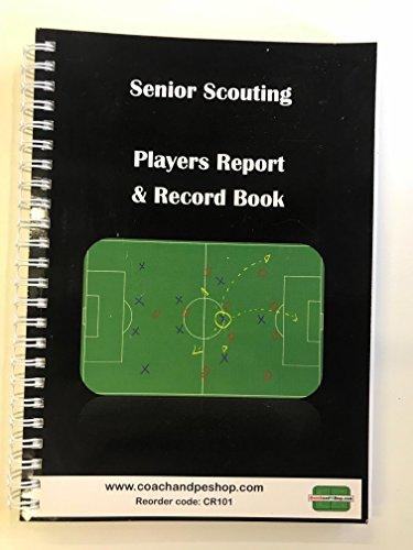 Senior Pfadfinder Player Bericht & Record A5Notebook