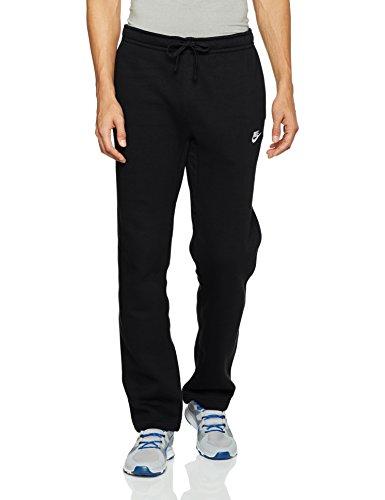 Nike Herren Sportswear Open Hem Fleece Club Trainingshose, Black/White, XL