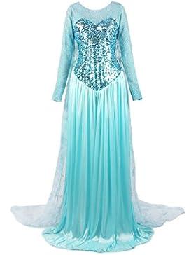 ReliBeauty Damen Elsa Prinzessin