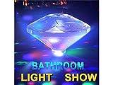 Huyizhi Zuhause 1 Stück LED Badewanne Lampe Unterwasser Lampe Schwimmbad Lichter 7 Beleuchtung Modi Farbwechsel Lichter