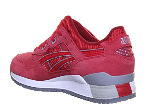ASICS Gel Lyte 3 Divers Unisexe Formateurs Rouge - Red LP2