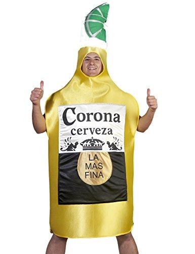für Erwachsene, Karneval Halloween - Einzigartige Größe (Bierflasche Halloween-kostüm)