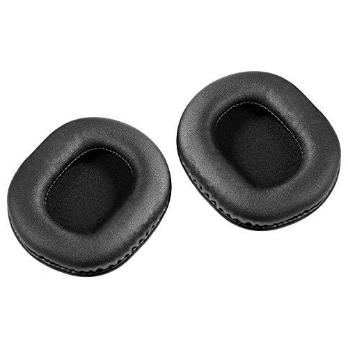 Coussinets d'oreille de rechange pour Audio-Technica ATH-M50x M50S M20x M30x ATH-SX1, AURTEC Coussin d'oreillette pour casque avec mémoire
