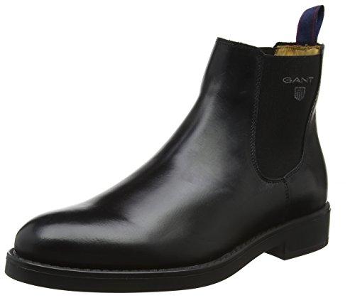 GANT Footwear Herren Oscar Chelsea Boots, Schwarz (Black), 44 EU