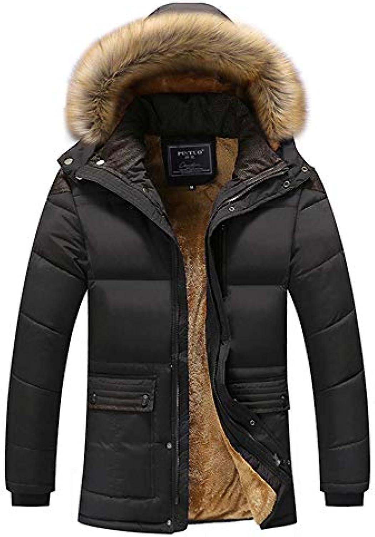 Loqono Inverno Uomo più Velluto Giacca Cappotto Caldo di di Caldo Spessore  Cappotto Casuale di Affari a77c2f2cad1