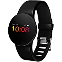 GEZICHTA Fitness Tracker, Activity Tracker Watch Heart Rate Monitor & Sleep Monitoring Submersible 50M IP68 Waterproof Smart Bracelet with GPS Route Tracking Pedometer Step Counter for Android IOS