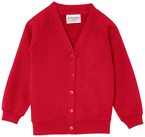Trutex Limited 260G - Gilet - uni, Rouge (Scarlet) , 13 ans