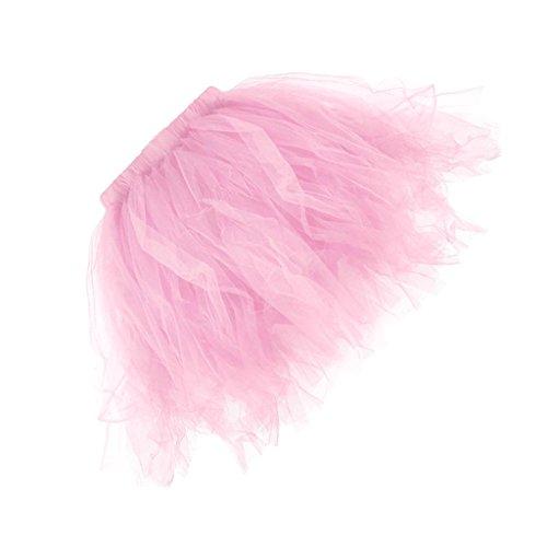 Sharplace tutu damen tutu mädchen Ballettröckchen Röcke Prinzessin - Rosa, (Tutu Erwachsene Rosa Kostüme)
