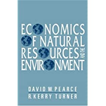 Economics of Natural Resources and the Environment
