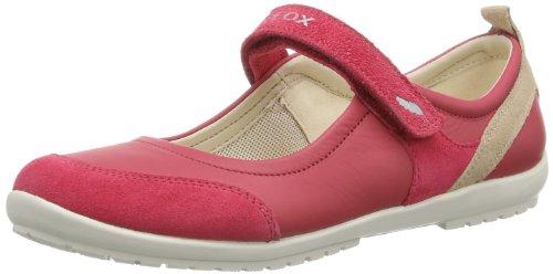 Geox J VEGA D J42B1D04322C7038 Mädchen Ballerinas, Pink (CHERRY/SKIN C7038), EU 28