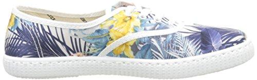 Vittoria Inglese Fiori E Cuori Unisex-erwachsene Sneaker Weiß - Blanc (20 Bianco)