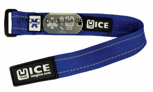 Notfall SOS Armband USB Sicherheit für Schul – Kinder Kids blau