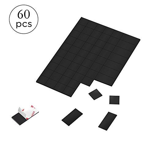 Zalava - Paquete 60 piezas láminas goma autoadhesivas