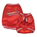 Sporty K9 MLB Saint Louis Cardinals Dugout Jacket for Dogs, X-Small