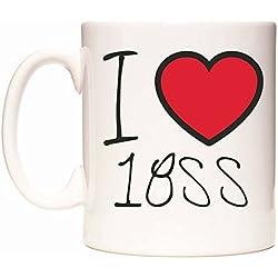 I Love 18SS Becher von WeDoMugs