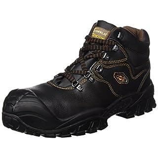 Cofra Sicherheitsstiefel S3 SRC New Reno UK Techno Sicherheitshochschuhe, schwarz, Leder, Größe 42, 40-NT210000-42