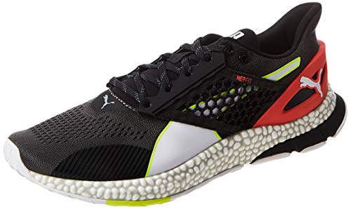 PUMA Hybrid Astro, Zapatillas de Running para Hombre - Gris (Castlerock-Puma Black-Nrgy Red 01) - 43 EU