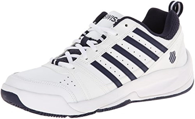 K-Swiss Performance KS Tfw Vendy II-White/Navy-m - Zapatillas de Tenis Hombre  -
