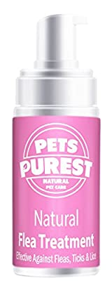 100% Natural Flea Treatment For Dogs, Cats & Pets from Pets Purest