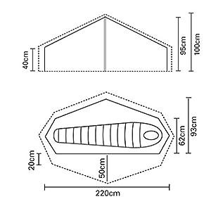 terra nova laser competition 1 person tent