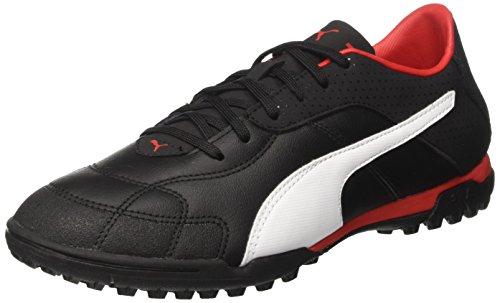 Puma Herren Esito C TT American Football Schuhe, Schwarz Black-White-Red, 47 EU (Schuhe Ace 2)