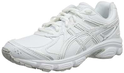 ASICS JUNIOR GEL-GALAXY 6 SL GS Running Shoes, White/Snow/Silver, 32.5 EU