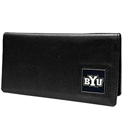 NCAA BYU Cougars  Leather Checkbook Cover
