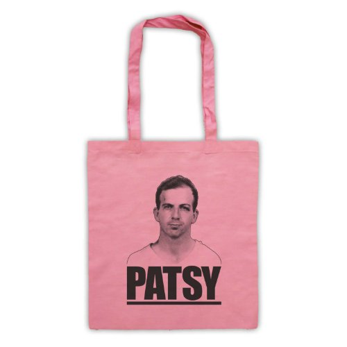 Lee Harvey Oswald Patsy Tote Bag Rosa