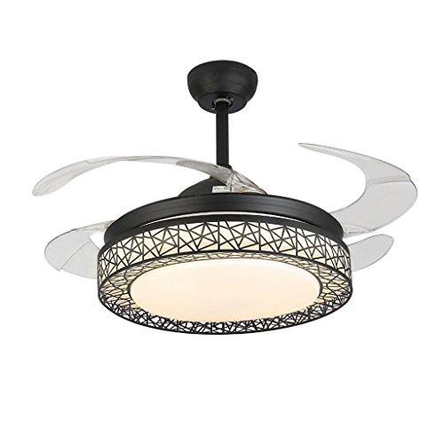 Ventilador de techo Stealth luz Ventilador de luz ventilador europeo Luz de...