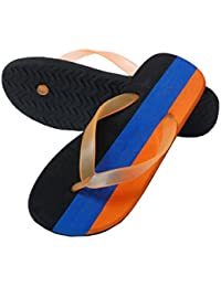 Charan Collections Multi Colour Unisex House Slippers | House Flip Flops | House Chappals WITH CHRITMAS, NEW YEAR...