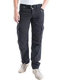Timezone Benitotz Cargo Pants Incl. Belt, Pantalon Homme