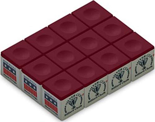 Silver Cup Billiard/Pool Cue Chalk Box, 12cubi