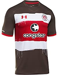 Under Armour Trikot FC St. Pauli Home 2017 2018 timber-red (1295576 6114af47387