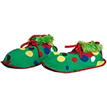 Zapatos o Zapatones de Payaso de tela infantil de 33 cm