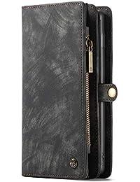Samsung Galaxy S10 S10 Plus S10 Lite Custodia Portafoglio multifunzionale  Uomo Donna Pelle con 5b355ed7ffb