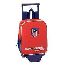 "Kindergartenrucksack Atlético De Madrid ""Coraje"" - Offiziell - mit Trolley Safta"