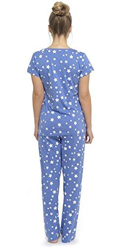 Foxbury - Ensemble de pyjama - Femme Bleu